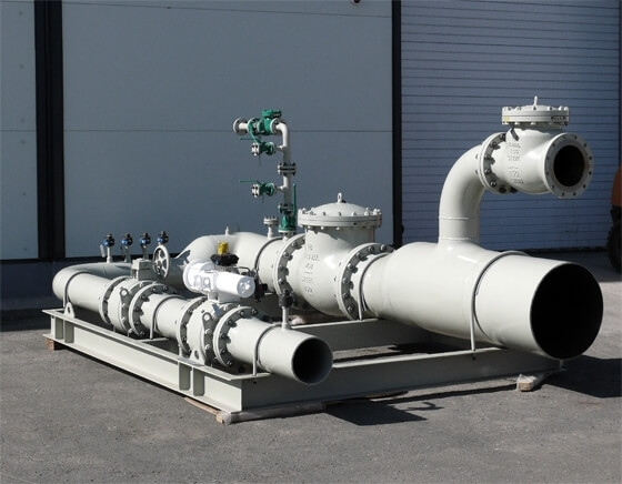 Gas Treatment Package